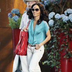 Jada Pinkett Smith : Stylée en jean blanc G-Star ! (Photos)