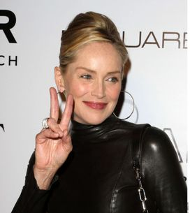 Sharon Stone : Méconnaissable sans maquillage ! (Photos)