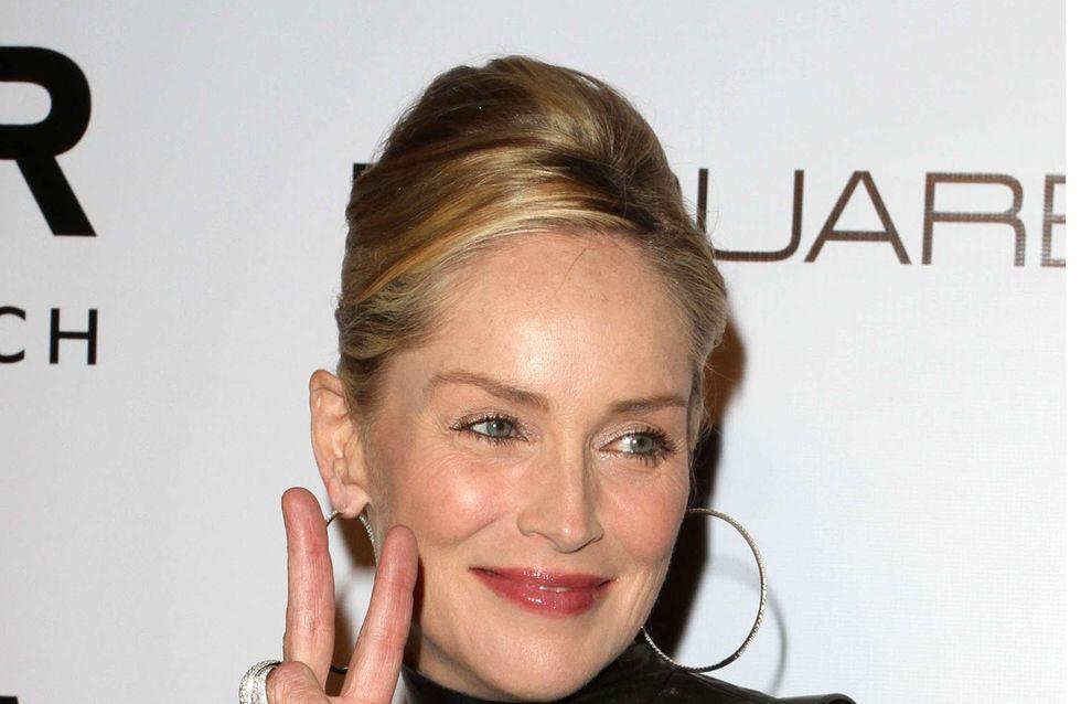 Sharon Stone : Méconnaissable sans maquillage ! (Photos)
