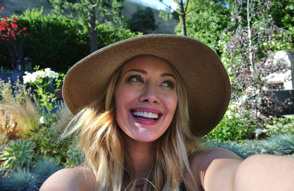 Hilary Duff : Elle dévoile son jardin secret (Photos)