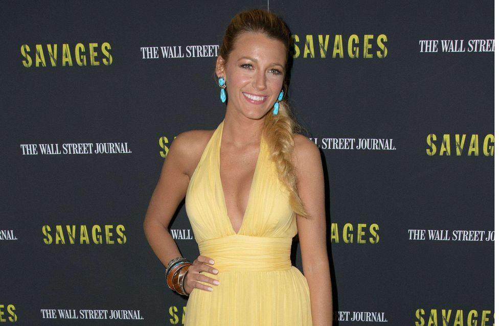 Blake Lively : Elle rayonne dans une robe Gucci (Photos)