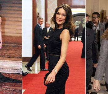 Carla Bruni-Sarkozy : Sa silhouette au fil du temps (Photos)