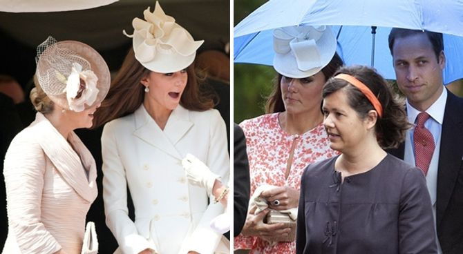 Kate Middleton chapeau robe mariage