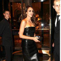 Jessica Alba : Sublime à Paris lors de la fashion week (Photo)