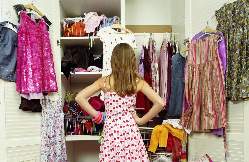 Vêtements : Danger dans les dressings !
