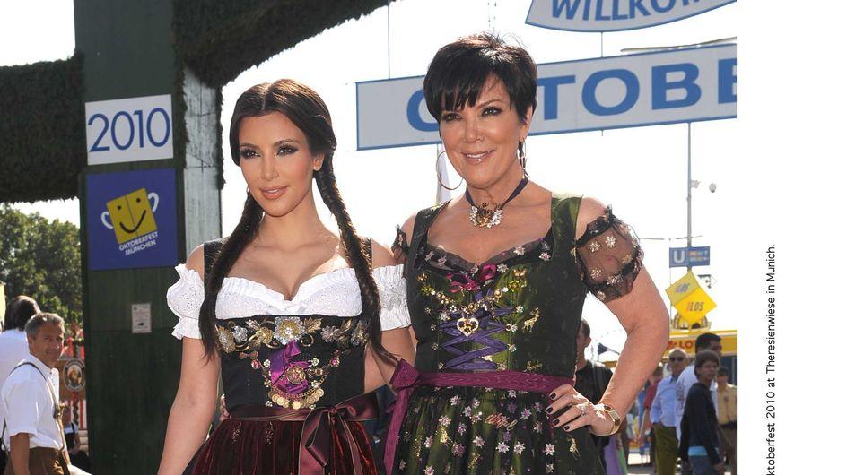 Kim Kardashian : Sa mère défigurée par la chirurgie ! (Photos)