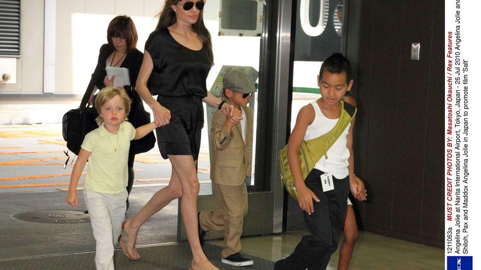 Angelina Jolie : Élever 6 enfants, c'est facile !