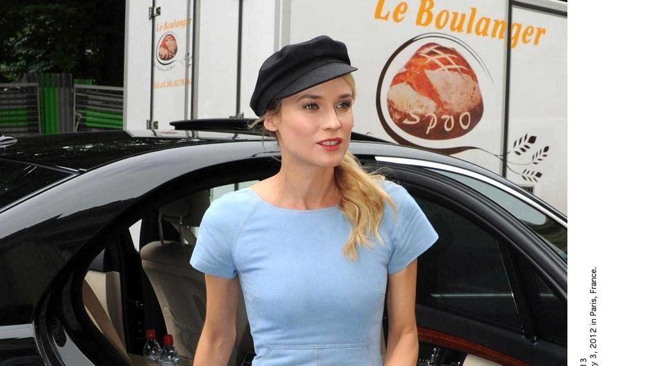 Fashion week : Le look de Diane Kruger au défilé Chanel Haute Couture (Photos)