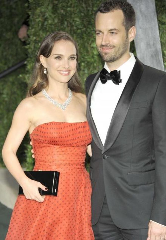 Benjamin Millepied Natalie Portman mariés