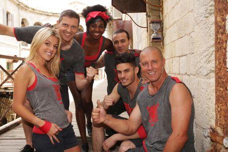 Baptiste Giabiconi Fort Boyard équipe