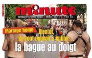 Homophobie : La Une révoltante du journal Minute