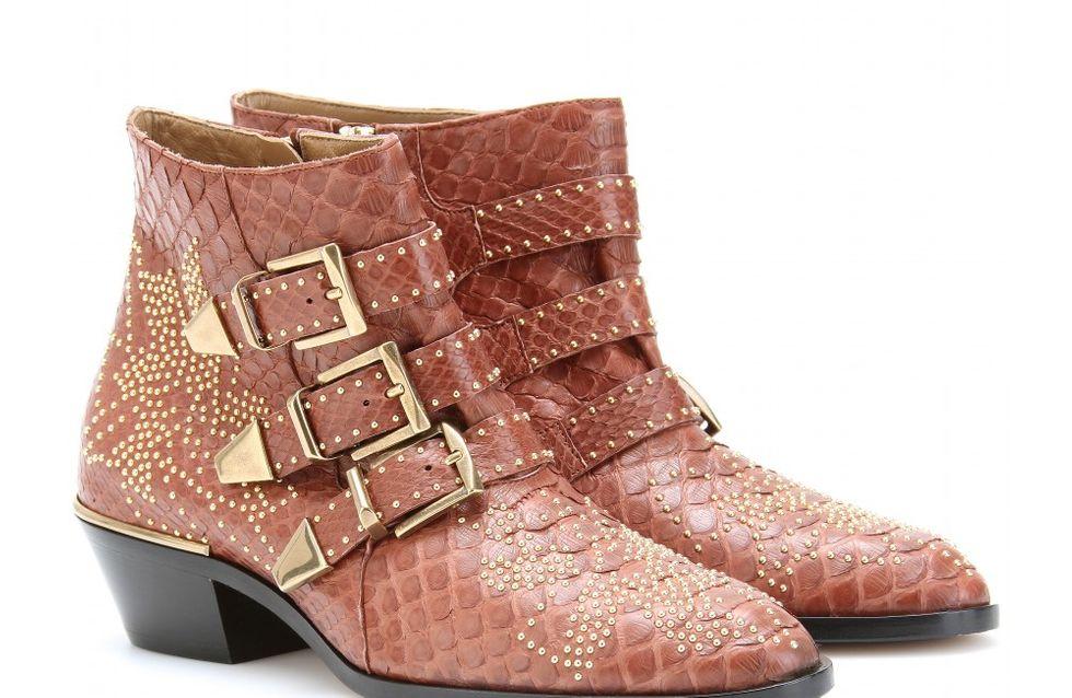 Chloé : Nouveaux looks pour les Susanna Boots ! (Photos)
