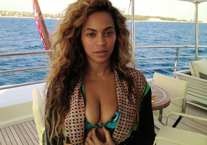 Beyoncé sans make-up