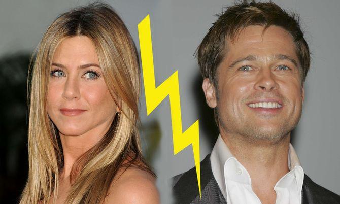 Jennifer Aniston sa rupture avec Brad Pitt