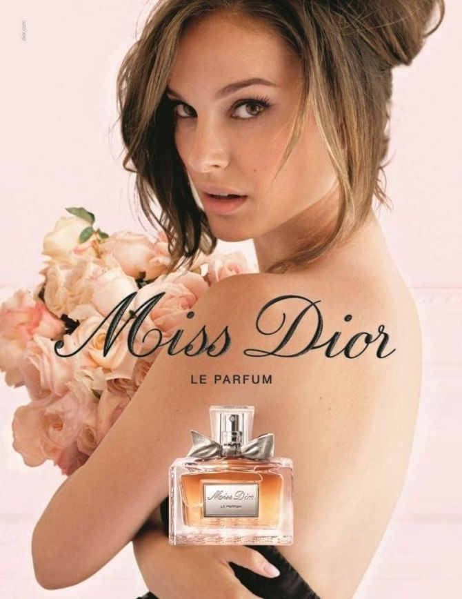 Natalie Portman, Dior, Rouge Nude, Nue, photos, campagne pub, parfum Miss Dior, sortie