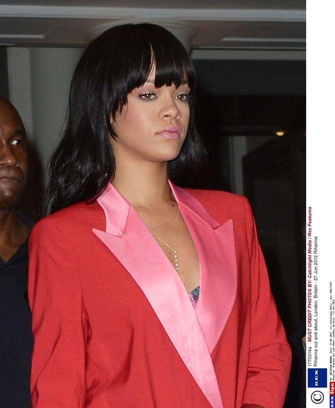 Rihanna frange