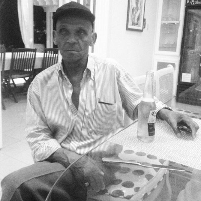 Rihanna, grand-père, Barbade