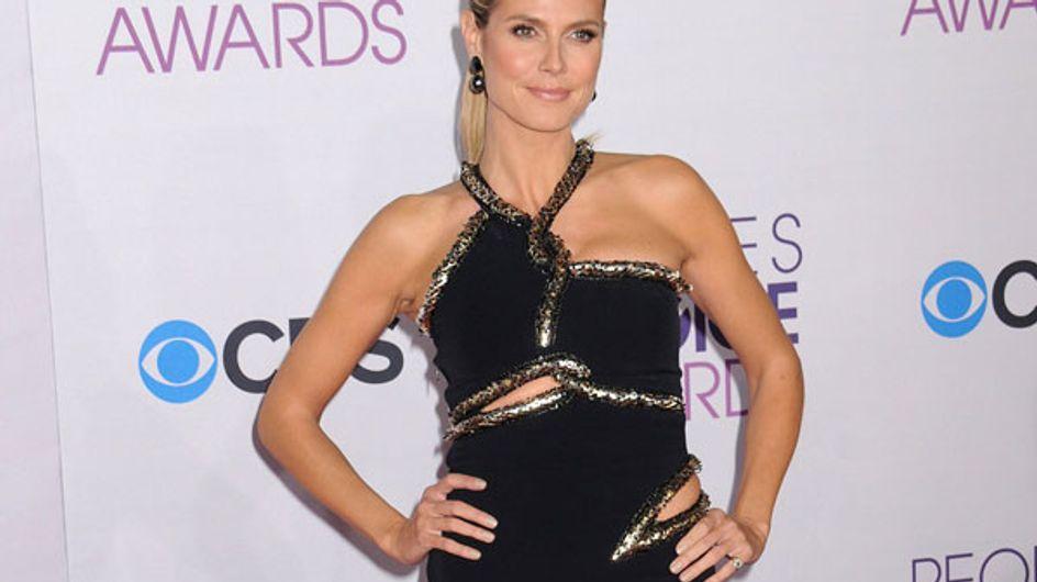 Heidi Klum : Elle improvise une danse sexy en robe transparente (Vidéo)