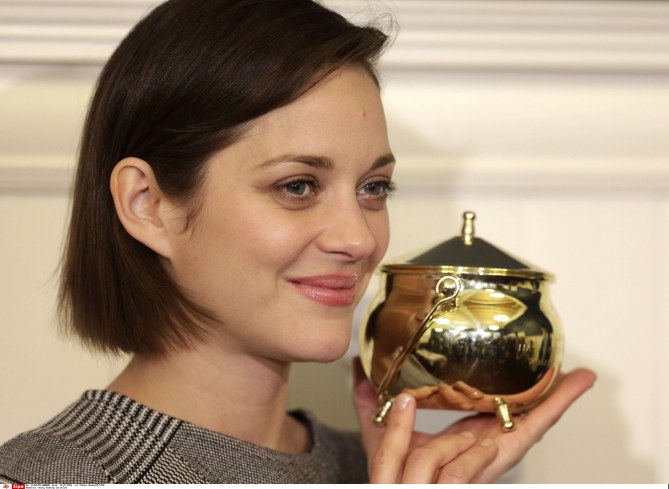 marion cotillard, harvard, hasty pudding,