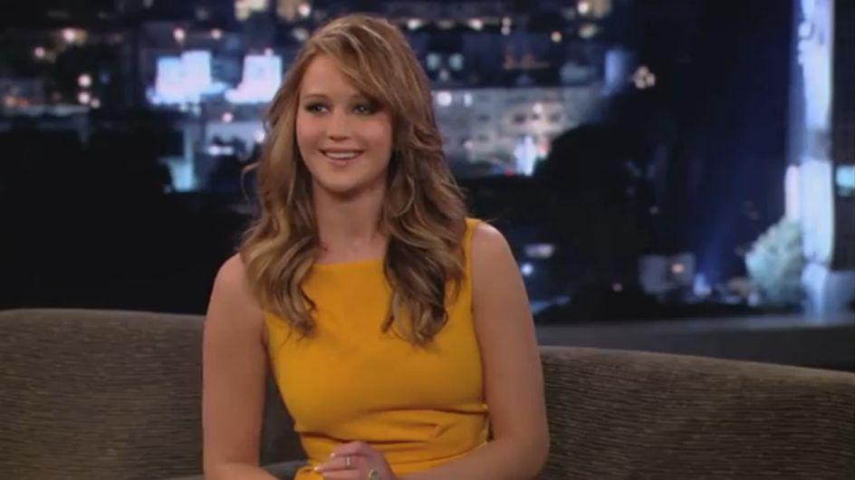 """Jennifer Lawrence : """"Ma poitrine est inégale"""" (Vidéo)"""