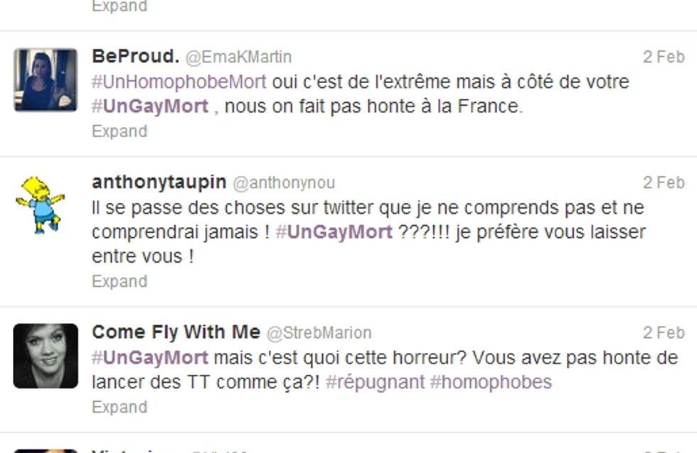 #UnGayMort, le hashtag homophobe qui secoue Twitter