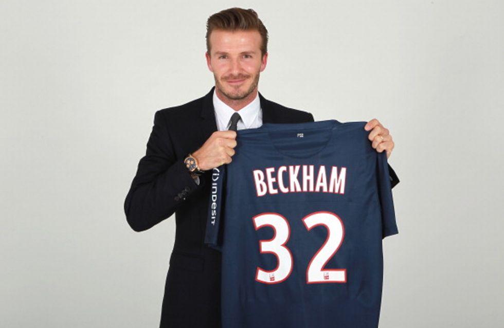 David Beckham : Il apprend le français