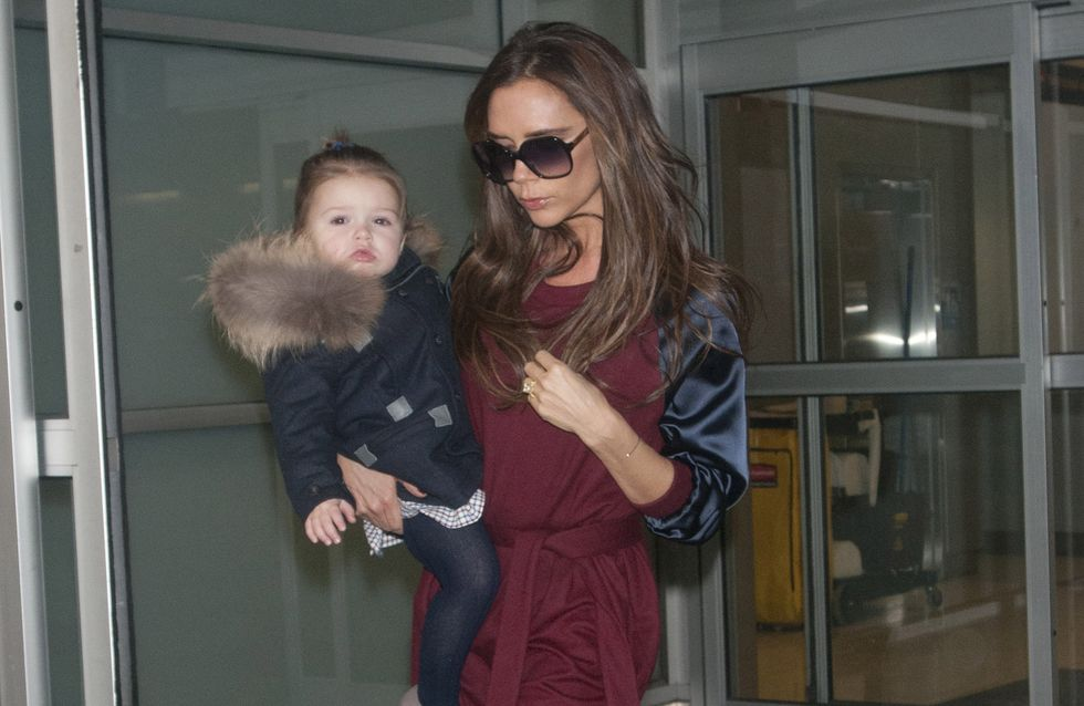 Victoria Beckham et Harper : Virée new yorkaise ultra lookée ! (Photos)