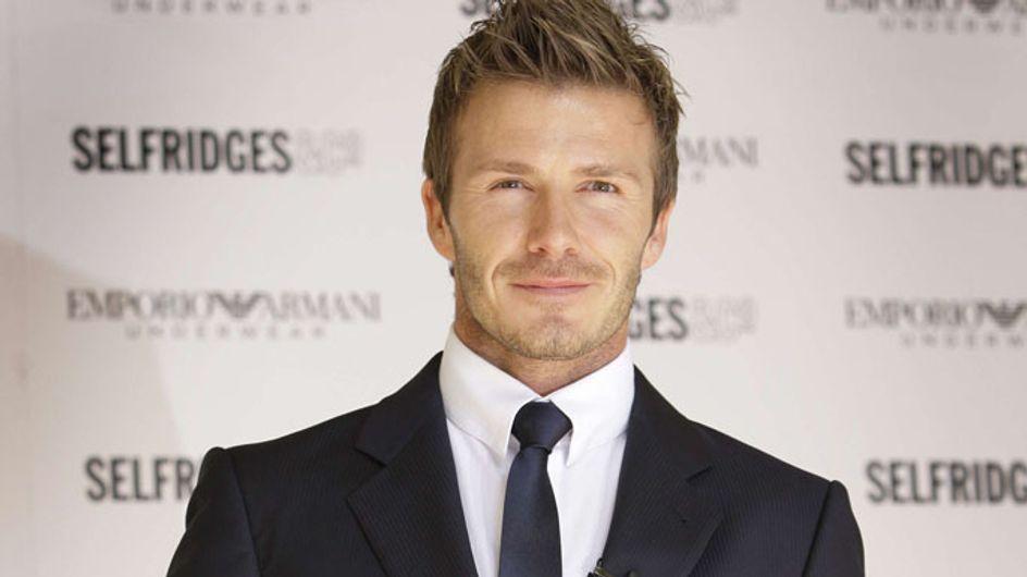 David Beckham : Le train, très peu pour lui ! Il préfère le jet de Tom