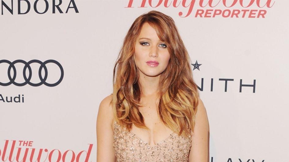 Jennifer Lawrence : Son look affreux à la soirée des Hollywood Reporter Nominees (Photos)
