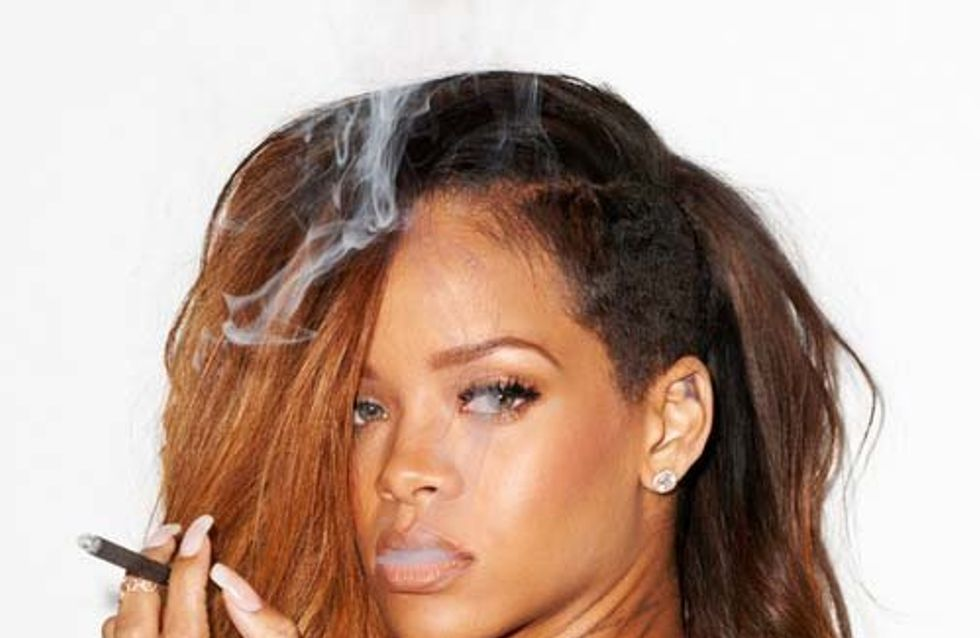 Rihanna : Un shooting enfumé avec Terry Richardson (Photos)