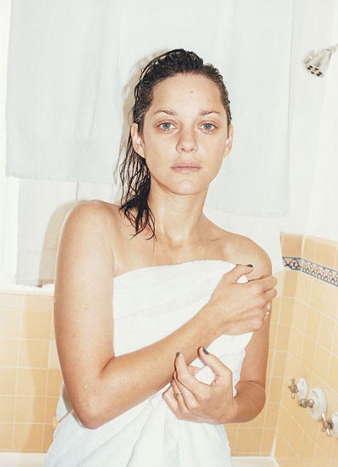 Marion Cotillard sans maquillage