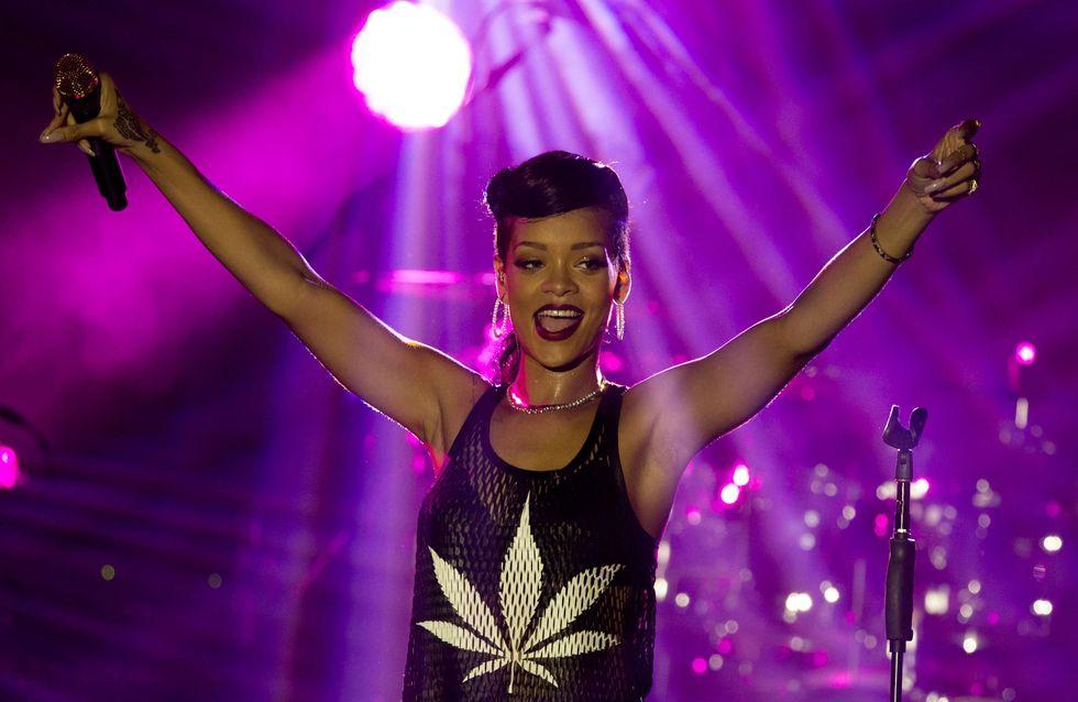 Rihanna : Un trio inattendu pour les Grammy's Awards !