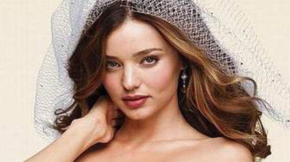 Miranda Kerr : Une mariée très sexy (Photos)