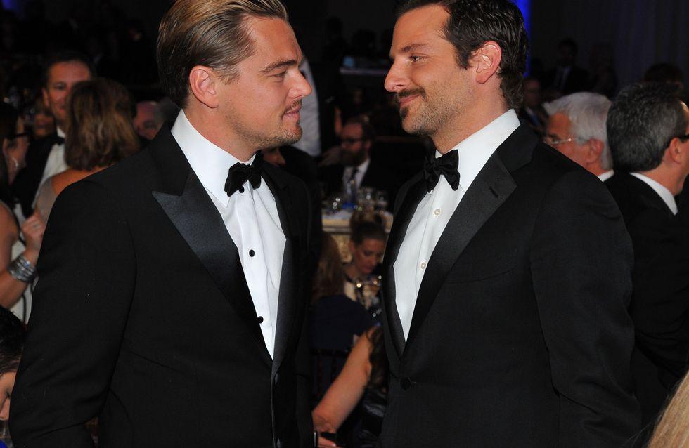 Leonardo DiCaprio et Bradley Cooper : Tout nus et tout bronzés