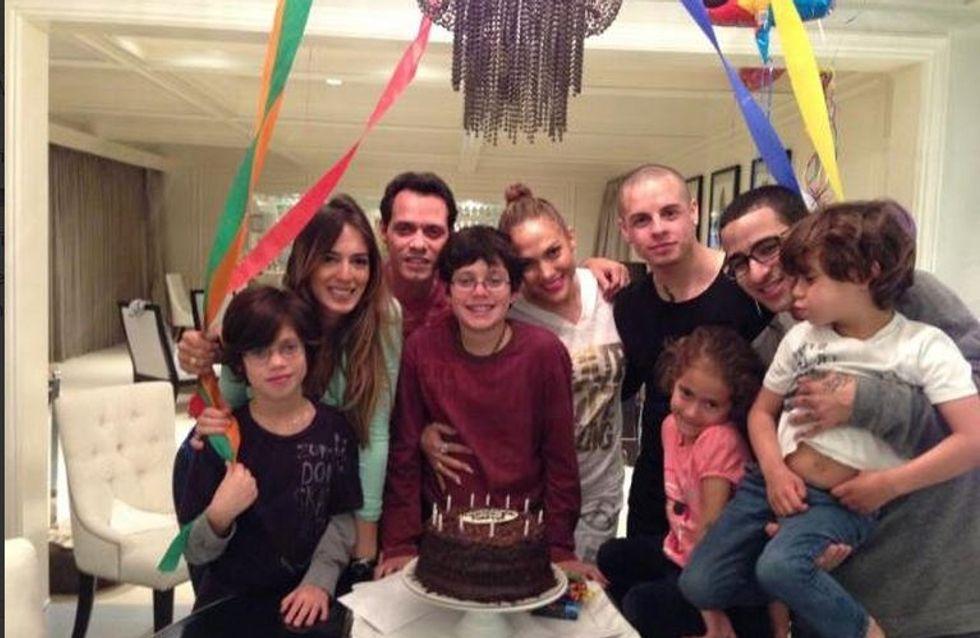 Jennifer Lopez : Elle réunit Casper et Marc Anthony pour faire la fête (Photo)