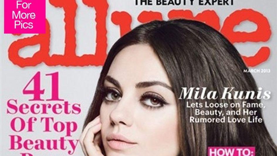 Mila Kunis : Une beauté ensorcelante pour Allure (Photo et Vidéo)