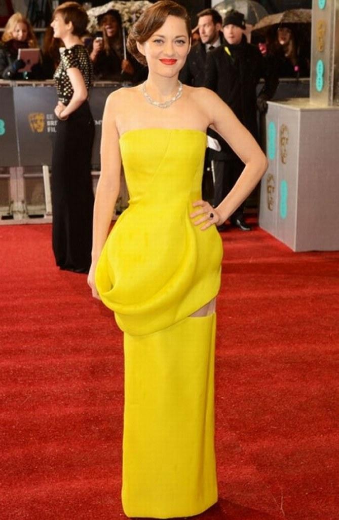 Marion Cotillard bafta 2013