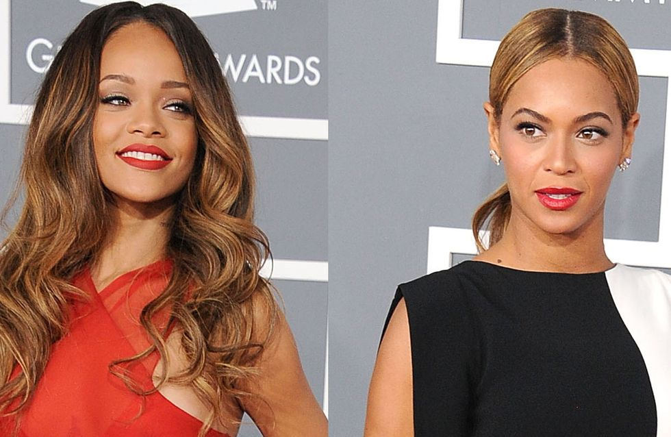 Beyoncé vs Rihanna : Le match mode des Grammy Awards (Photos)