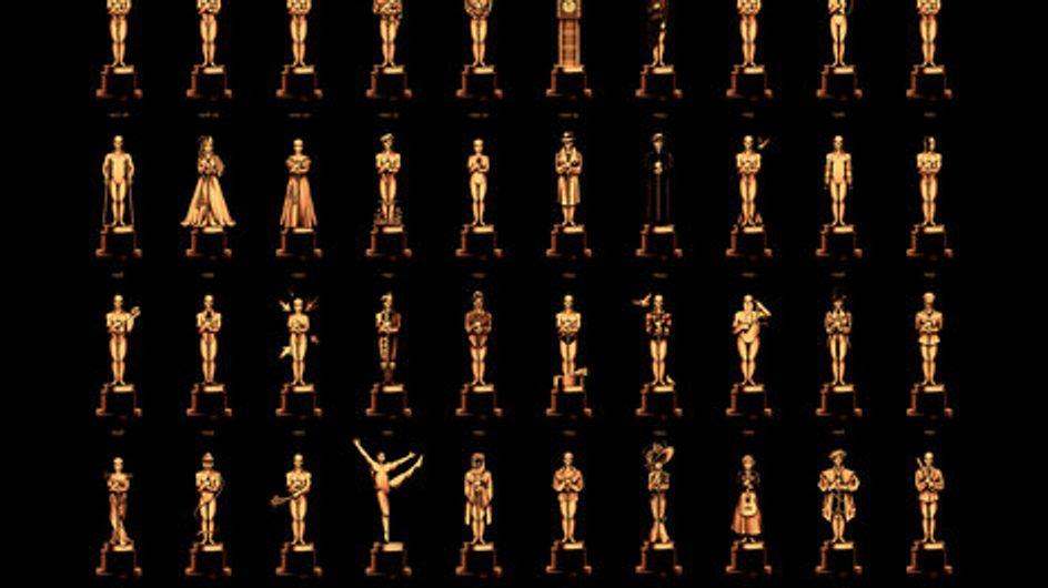 Oscars 2013 : Une nouvelle affiche sous forme d'énigmes (Photo)