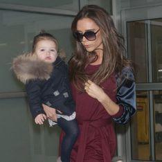 Victoria Beckham : Harper fait son défilé (Photos)