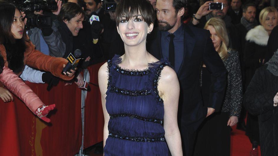 Anne Hathaway : C'est quoi ce look ? (Photos)