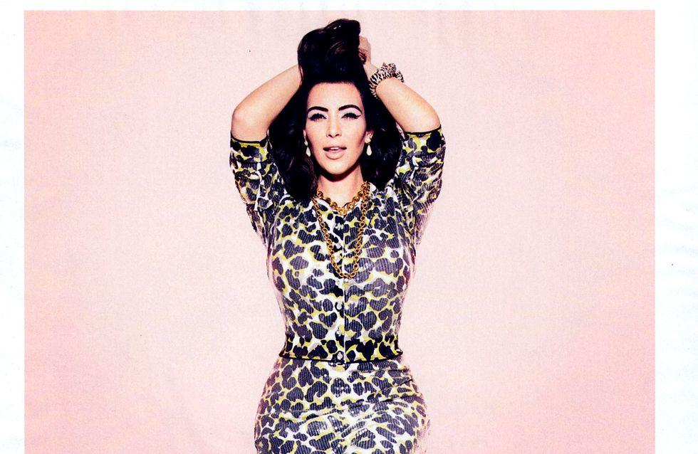Kim Kardashian : Fatale pour ELLE Magazine (Photos)