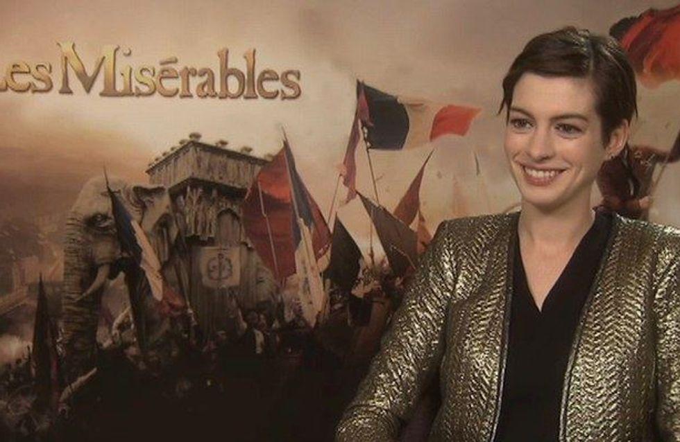 Anne Hathaway : Je vous en supplie, n'essayez pas mon régime (Vidéo)