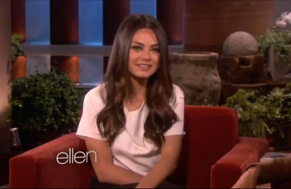 Mila Kunis : Découvrez sa Saint-Valentin idéale... (Vidéo)