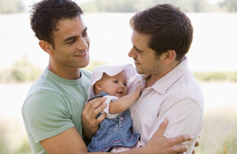 Homoparentalité : 1 couple homosexuel sur 10 vit avec un enfant