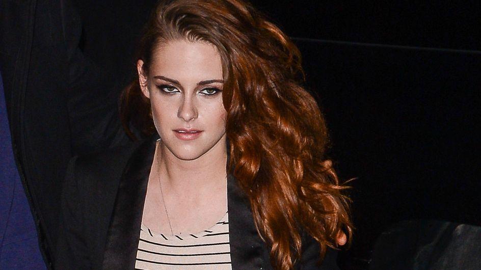 Kristen Stewart : Elle porte les vieux caleçons de Robert Pattinson