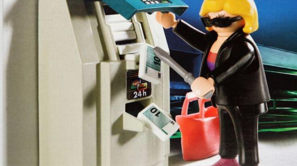 """Insolite : Un """"Playmobil braqueur de banque"""" fait scandale"""