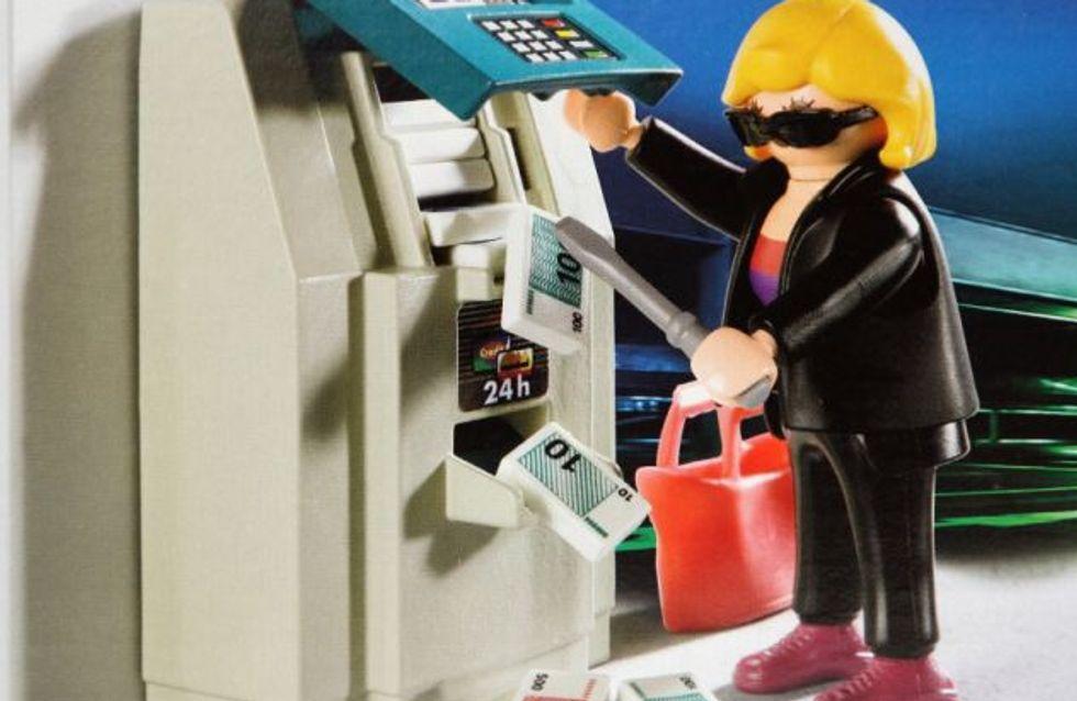 Insolite : Un Playmobil braqueur de banque fait scandale