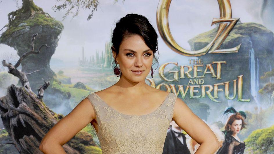 Mila Kunis : Princesse romantique pour la première d'Oz (Photo)