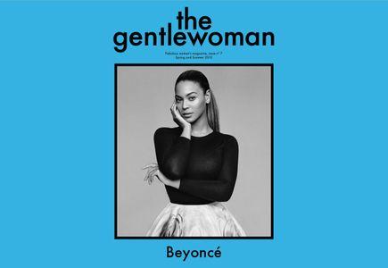 beyoncé, gentlewoman, magazine, une, couverture